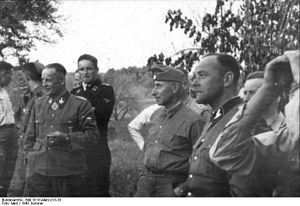 Werner Ostendorff - Krüger, Reitzenstein, Hausser and Ostendorff in the Soviet Union, 1943