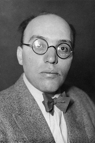 Berlin University of the Arts - Kurt Weill in 1932