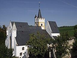 Burgkirche vom Malakoffturm aus im September 2010