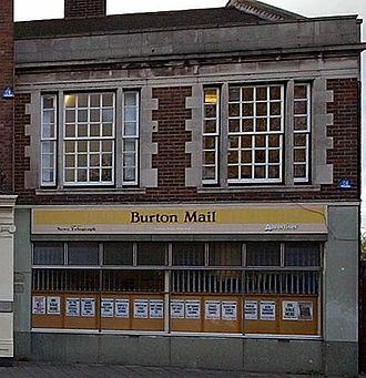 Burton Mail - Burton Mail Head Office