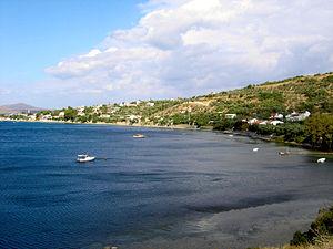 Erdek Gulf - A view of Erdek Gulf.