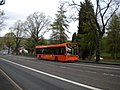 Bus ascending Hucknall Road (1) - geograph.org.uk - 3033962.jpg