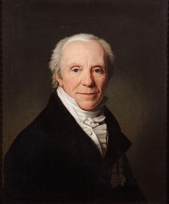 Christian Frederik Hansen - C. F. Hansen painted Friedrich Carl Gröger in 1830