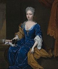 Françoise Fagel (1680-1762). Echtgenote van 1) Johan van Byemont; 2) Willem van Erpecum