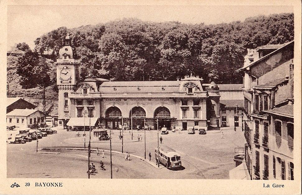 CAP 39 - BAYONNE - La Gare