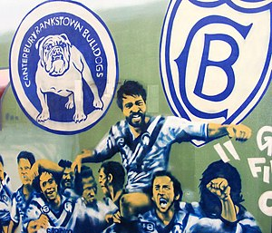 Canterbury-Bankstown Bulldogs - 1980 NRL Grand Final artwork