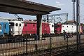 CFR 46 and 43 locomotives, Arad.jpg