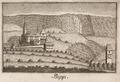 CH-NB - Bipp, Schloss mit Kirche Oberbipp, von Süden - Collection Gugelmann - GS-GUGE-NÖTHIGER-F-10.tif
