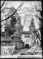 CH-NB - Blonay, Château, Entrée, vue partielle - Collection Max van Berchem - EAD-7226.tif