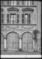 CH-NB - Genève, Maison Saladin de Pourtalès, Façade, vue partielle - Collection Max van Berchem - EAD-8670.tif