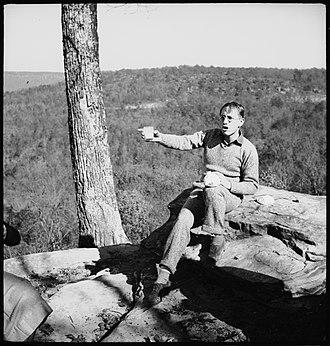 Myles Horton - Myles Horton in the 1930s