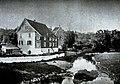 CHRONIK DER FAMILIE FLENDER, Ludwig Voss (Verlag), Düsseldorf 1900, Hintere Ansicht des Flender'schen Stammhauses, Kräwinklerbrücke bei Lennep.jpg