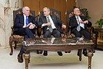 CIA Director Brennan and Former National Security Advisers Berger and Scowcroft in Riyadh.jpg