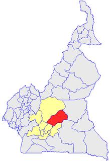 Haute-Sanaga Department in Central Region, Cameroon