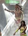 CMLL November 30 El Solar entranceE.jpg