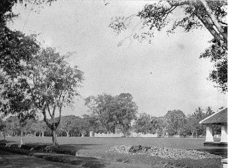 Karanganyar, Karanganyar - Image: COLLECTIE TROPENMUSEUM Aloen Aloen te Karanganjar Java. T Mnr 60013757