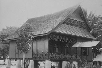 Donggala Regency - Home of the ruler of Donggala (1930s)