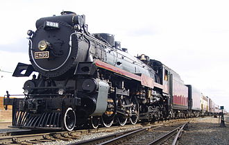Canadian Pacific 2816 - The Canadian Pacific 2816 Empress on an excursion in 2008.