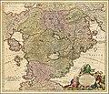 Ca. 1725 allegorical map of Cockaigne by Johann Baptist Homann.jpg
