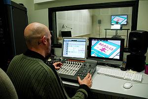 Dubbing (filmmaking) - Dubbing studio