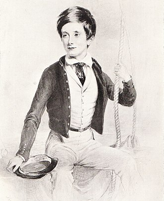 Clements Markham - Markham as a naval cadet in 1844