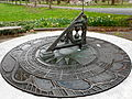 Calder sundial Hort Center 2.JPG
