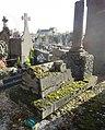 Cambrai - Cimetière de la Porte Notre-Dame, sépulture remarquable n° 07, famille Dubois-Ringeval, tombe remarquable (01).JPG