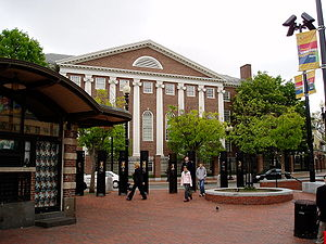 Harvard Square, May 2004