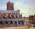 Camille Pissarro- L'Église Saint-Jacques à Dieppe - 1384.jpg