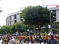 Camp Nou - Via Catalana - abans de l'hora P1200402.jpg