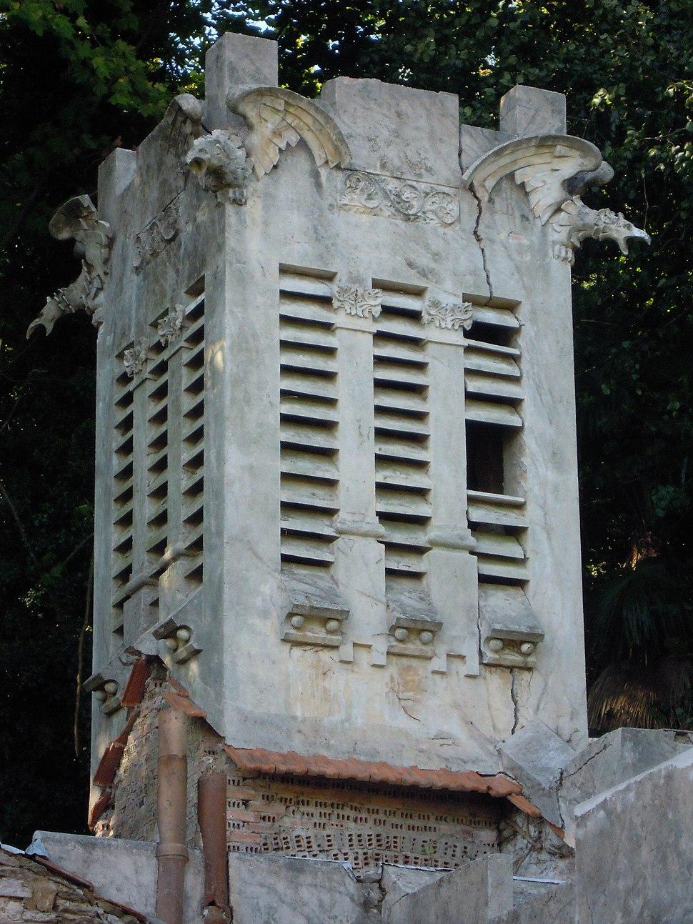 Campanario da capela do pazo do Espiño