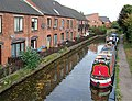 Canal-side housing at Rugeley, Staffordshire - geograph.org.uk - 1559227.jpg