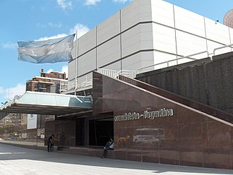 Televisión Pública Argentina - The new A78TV/current facilities in Buenos Aires built in 1978
