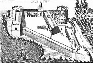 Hendrik Carloff - Fort Carolusborg (1682), built on the initiative of Carloff