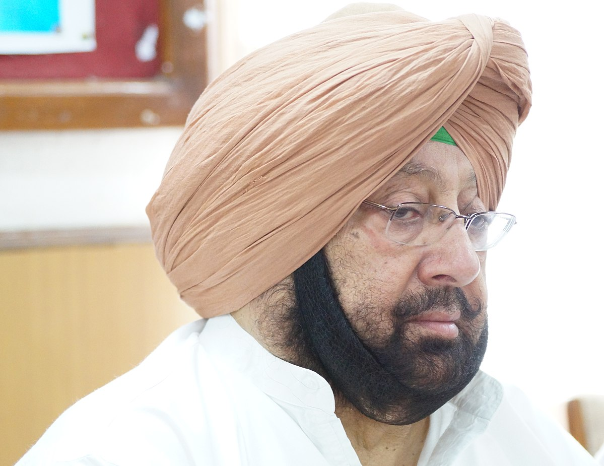 Image result for captain amarinder singh