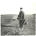 Captain Edward Penniman on Fort Hill, Cape Cod National Seashore, 1900. (a16f6db4eff64de3b0260f012e8fe355).jpg