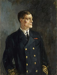 Captain M E Nasmith, Vc, Rn - 1918 Art.IWMART1335.jpg