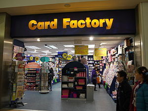 Card Factory - Card Factory, Southside Wandsworth, London