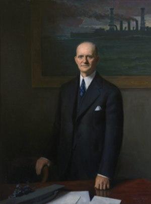 Carl Vinson - Portrait of Vinson, 1943.