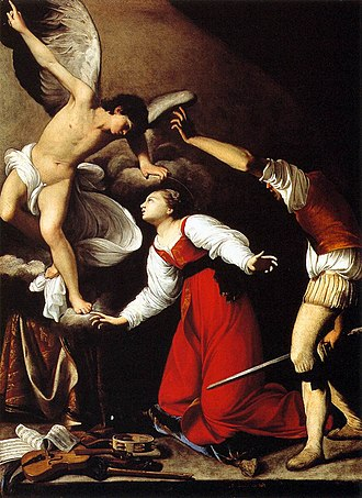 Saint Cecilia - The Martyrdom of St Cecilia by Carlo Saraceni