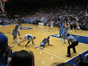 Carolina–Duke rivalry - The March 4, 2006 game was the most watched college basketball game in ESPN history.