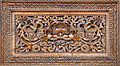 Carved wooden picture, Bhaktapur.JPG