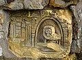 Carving of a lion, Glengarnock, North Ayrshire.jpg
