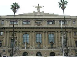 Casa Central de la Pontificia Universidad Católica.