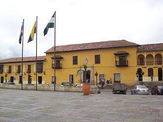 Gonzalo Suárez Rendón - Image: Casa del Fundador de Tunja
