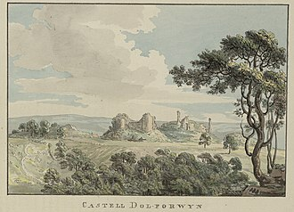 Dolforwyn Castle - Dolforwyn c.1781