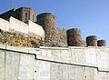 Castell d'Onda, muralla oest i nou camí d'accés.jpg