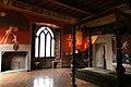 Castiglione olona, palazzo branda, interno, camera del cardinale 05.jpg
