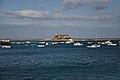 Castillo de San Gabriel desde el puerto de Arrecife 01.jpg