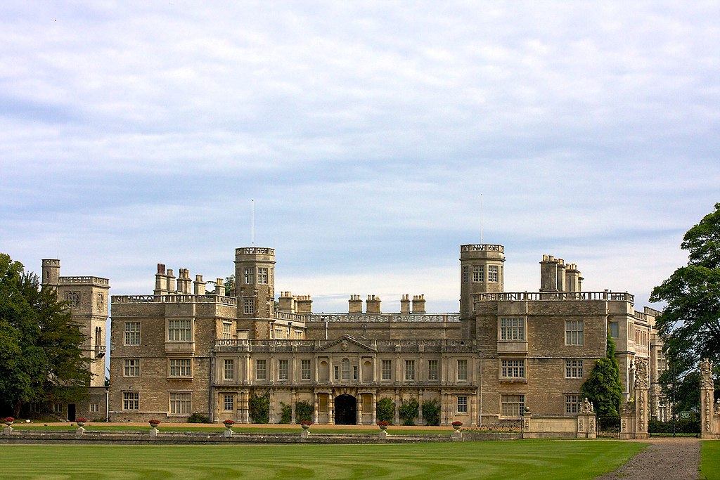 File Castle Ashby House Northamptonshire England
